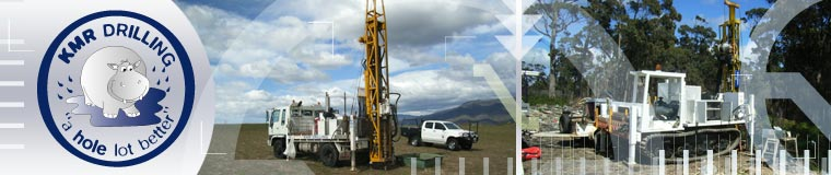 KMR Drilling home page banner